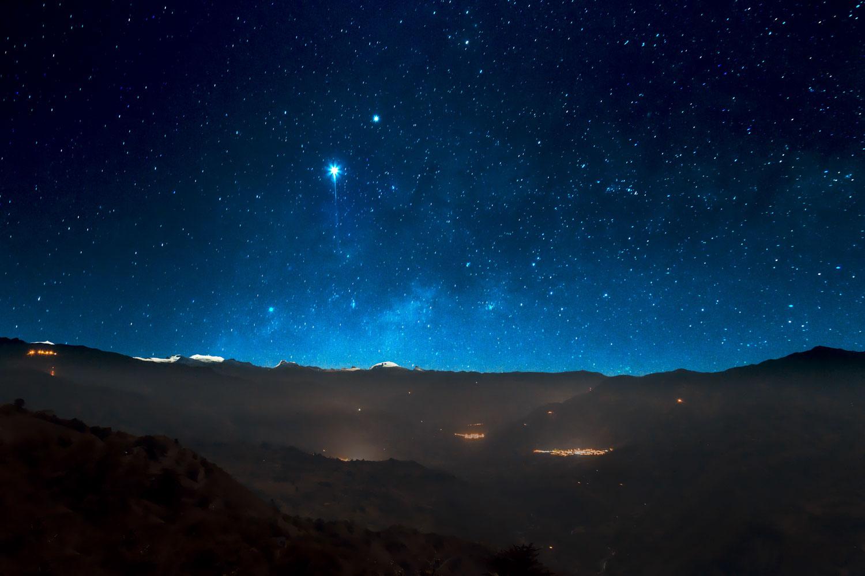 Hilo de plata en noche de luna llena: redescubrir el Cañón del Chicamocha